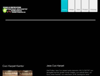 cuci-karpet.net screenshot