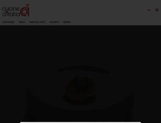cucineditalia.org screenshot
