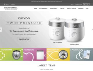 cuckoomallusa.com screenshot