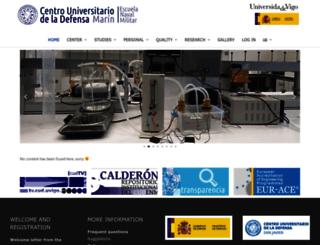 cud.uvigo.es screenshot