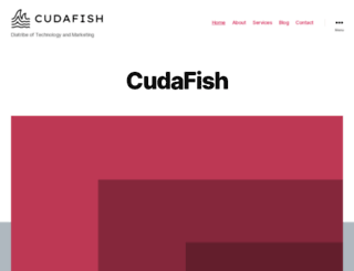 cudafish.com screenshot