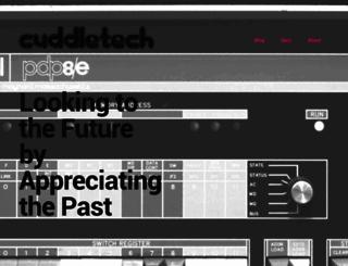 cuddletech.com screenshot