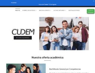 cudem.com.mx screenshot