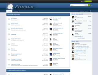 cudovita.si screenshot