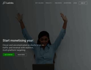 cuelinks.com screenshot
