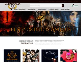 cuernavilla.com screenshot