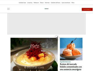 cuerpomente.com screenshot