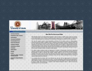 cuexam.net screenshot