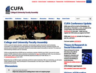 cufa.socialstudies.org screenshot