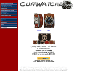 cuffwatches.net screenshot
