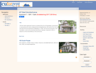 cuforrent.com screenshot