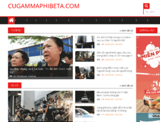 cugammaphibeta.com screenshot