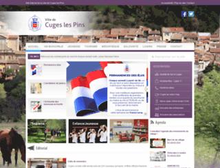 cuges-les-pins.fr screenshot