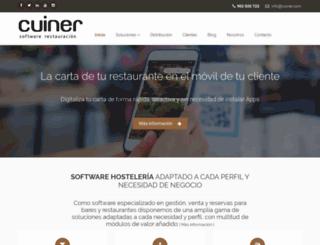cuiner.com screenshot