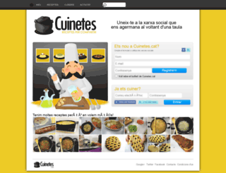 cuinetes.cat screenshot