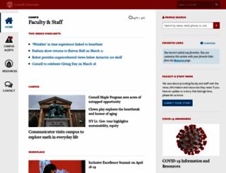 cuinfo.cornell.edu screenshot