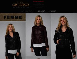 cuirsaintgermain.com screenshot