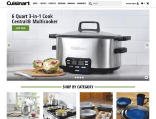 cuisinartwebstore.com screenshot