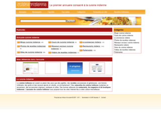 cuisine-indienne.net screenshot