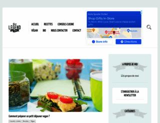 cuisine-vegetarienne.com screenshot