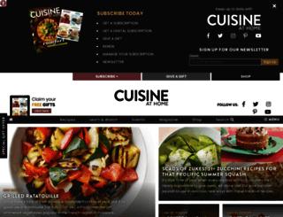 cuisinemag.com screenshot