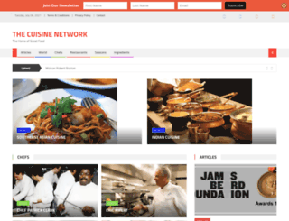cuisinenet.com screenshot