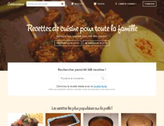 cuisinorama.com screenshot