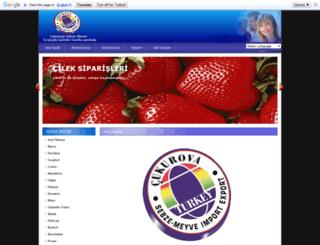 cukurovasebzemeyve.com screenshot