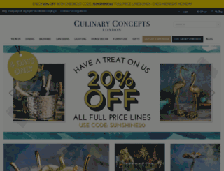 culinaryconcepts.co.uk screenshot