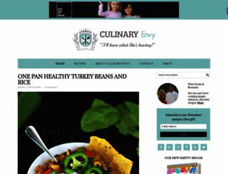 culinaryenvy.com screenshot