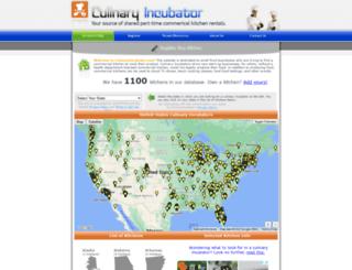 culinaryincubator.com screenshot