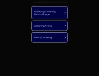 culinaryproductions-br.com screenshot