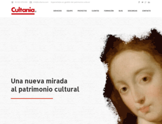 cultania.com screenshot