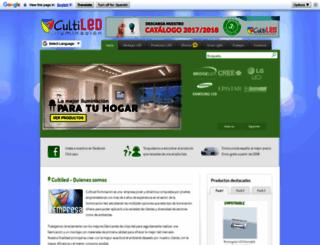 cultiled.es screenshot