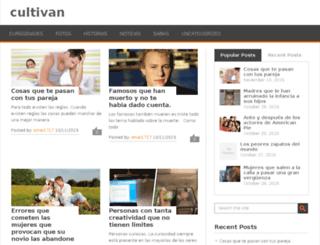 cultivan.in screenshot