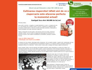cultivareatrufelor.ideideafaceri.ro screenshot