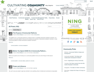 cultivate.ning.com screenshot