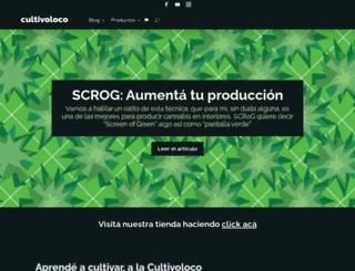 cultivoloco.blogspot.com.ar screenshot