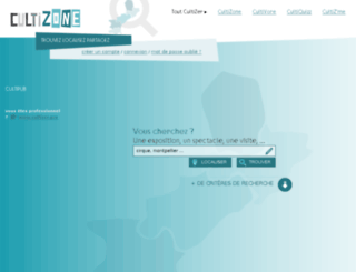cultizone.fr screenshot