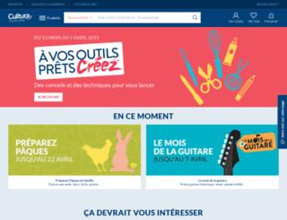cultura.com screenshot