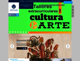 cultura.iteso.mx screenshot
