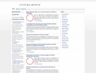 culturaarticle.blogspot.com screenshot