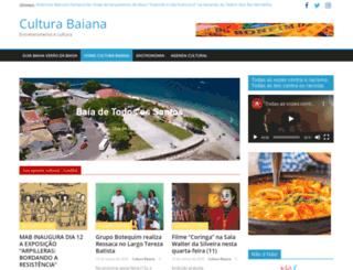 culturabaiana.com.br screenshot