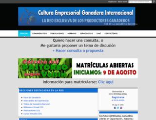 culturaempresarialganadera.ning.com screenshot