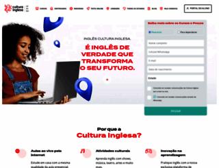 culturainglesasp.com.br screenshot