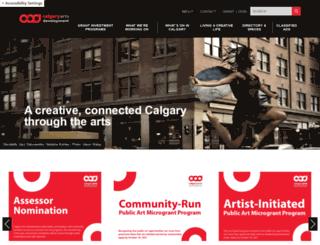 culturaldistrict.ca screenshot