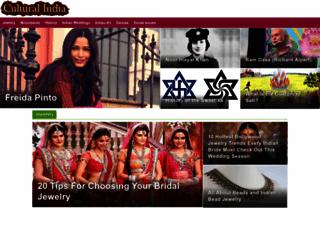 culturalindia.net screenshot