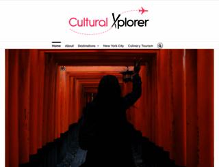 culturalxplorer.com screenshot