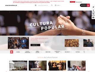 culturapopular.bcn.cat screenshot