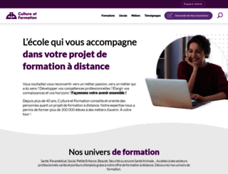 culture-formation.fr screenshot